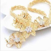 metallkette blumen gürtel großhandel-Fahion Flower Metall Allgleiches Diamant-besetzter Diamantkettengurt der Frauen für Frauen, freies Verschiffen