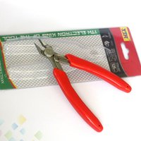 Wholesale snip tools for sale - 125mm YTH Crimping Plier Snip Mini Electronic Cutter Tool YTH037 Cutting Plier Cutter Pliers Coil Wick with Retail packaging DHL Free
