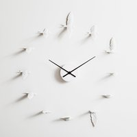 Wholesale lighting decoration products - 2018 Nordic style New Swallow handcraft Clock modern design wall clock good gift high quality home decoration product Manual design