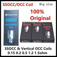 Wholesale Mini V2 - Kanger SSOCC OCC Coils 0.15 0.2 0.5 1.2 1.5ohm Coil For Kanger Subtank Mini V2 Atomizer 100% Original