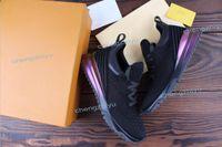 nouvelles baskets populaires achat en gros de-2019 Nouveau Designer populaire Top Qualité Homme Femme Mode Low Cut Lace Up Respirant Mesh Sneaker Chaussure À L'extérieur Course Runner Casual Chaussure38-46