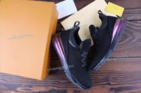 zapatos transpirables al aire libre al por mayor-2019 nuevo diseñador popular de calidad superior hombre mujer de moda de corte bajo con cordones de malla transpirable zapatillas de deporte al aire libre carrera corredor casual zapato38-46