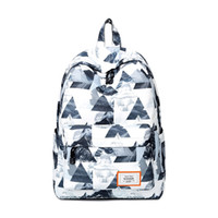 mochila de moda china al por mayor-2018 New Student College Mochilas Fashion Chinese Ink Painting Fresco Simple Mochila Escolar Popular en Casual Daypacks de los hombres