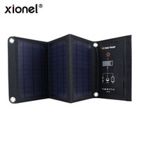 Wholesale Solar Charger Foldable - 16W Solar Charger With SunPower Portable and Foldable Solar Panels, Solar Battery Chargers with 2-Port USB High- Efficiency