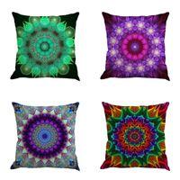 Wholesale home printing online - Creative Flax Pillowslip New Home Decorative Pillowcase Mandala Bohemia Printing Pillow Case Many Styles ny C R