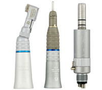 Wholesale speed electronics - Dental Low Speed Handpiece EX203 Straight Contra Angle Air Motor Borden Midwest Holes