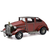 Wholesale Metal Antique Vintage Bubble Car Model Metal Craft Home Decoration Ornaments Handmade Handcrafted Collections