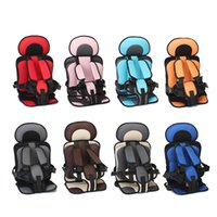 Infant Safe Seat Mat Portable Baby Safety Seat Children's Chairs Updated Version Thickening Sponge Kids Car Stroller Seats Pad