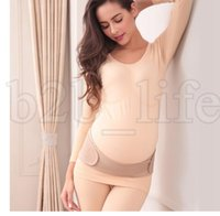 Wholesale belly maternity - Pregnant Postpartum Corset Belly Belt Maternity Pregnancy Support Belly Band Prenatal Care Athletic Bandage Pregnant Belly Band KKA5507