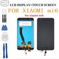 pantalla táctil de reemplazo xiaomi mi al por mayor-Para Xiaomi Mi6 LCD con pantalla táctil + pantalla táctil 100% nuevo FHD 5.15