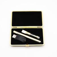 mejores plumas de metal al por mayor-Mejores ventas Gold Vape Pen Starter Kit Nuevo producto original 0.5 ml / 1.0ml CE3 92A3 510 Oil Vaporizer Pen Dual Cartucho