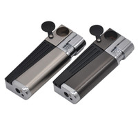Wholesale Creative Lighter with Pipe Multifunctional Smoking Accessories Metal Lighters Pipes kit