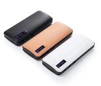 batería solar externa del cargador de batería al por mayor-Universal powerbank 6500mAh Cargador portátil móvil Power Bank tres USB para Tablet PC iPhone Samsung HTC