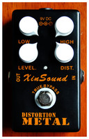 Heavy Metal Distortion Guitar Effect Pedal By XinSound