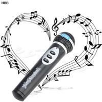 Wholesale girls singing - Girls Boys Microphone Toy Mic Karaoke Singing Kids Children Funny Music Toy Gift #T026#
