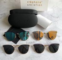Wholesale orange cateye glasses resale online - stephane christian andante cateye Sunglasses mm gafa de sol Sonnenbrille unisex Luxury Designer Sunglasses Glasses New with box