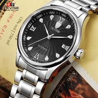 tevise роскошные мужчины оптовых-TEVISE Марка мужчины механические часы роскошные мода бизнес часы автоматические наручные часы Relogio Masculino Montre Homme 2017 новый