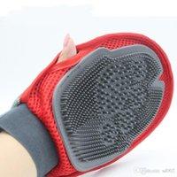 sèche-gants achat en gros de-Produits pour chiens Gant Bain Massage Gants Élastique En Caoutchouc Anti Statique Brosse Moule Preuve Séchage Rapide Creative Pet Fournitures 6 45wq jj