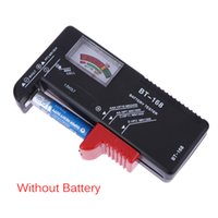 Wholesale Battery Tester Universal Electronic Battery Checker for AA AAA V Button Cell Multi Size Volt Meter Measuring Tool BT168