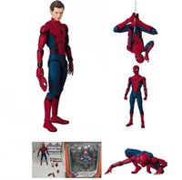 Wholesale amazing spiderman - The Amazing Spiderman Variant Figure Film Version Spider Man Peter Parker PVC Action Figures Toy Doll Kids Gift