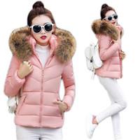 Fake Fur Collar Parkas Down Cotton Jacket 2017 Winter Jacket Women Winter  Coat Thick Snow Wear Lady Clothing Female Parka 0779844e5