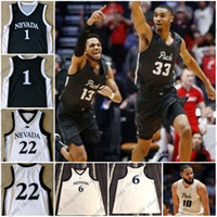 Wholesale Wolves Jersey - Custom Nevada Wolf Pack NCAA College Basketball 10 Caleb Martin 24 Caroline 11 Cody Martin 21 Stephens Stitched Any Name Number Jerseys