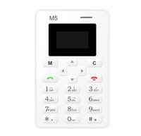 Wholesale MOQ Mini Card Phone With Backup Emergency Wallet Phone mm Ultra Thin Low Radiation Phone