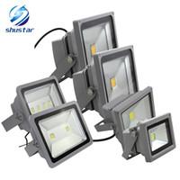 projecteur achat en gros de-10W 20W 30W 50W 100W 150W 200W LED projecteur projecteur projecteur lampe Publicité Signes lampe projecteur extérieur étanche AC85-265V