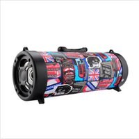 Wholesale china basses resale online - FM Outdoor Portable Bluetooth Speaker Wireless Stereo Loud Super Bass Sound Aux USB TF Card Slot with Retail Box