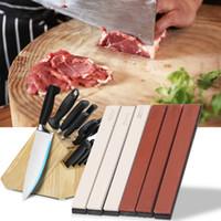 verschiedene küchen großhandel-6PCS Professional Messerschärfer Schleifsteine Portable verschiedene Spezifikationen Schärfstein Set für Küche verwenden Kostenloser Versand NB
