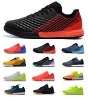 homens futsal venda por atacado-Nike Magista II TF IC Sapatos de Futebol Dos Homens Magista X futsal Homens Magista Obra Chuteiras de Futebol Botas de Futebol Interior Cristiano Ronaldo