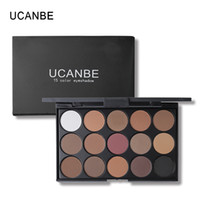 Wholesale nude eye shadow kits resale online - UCANBE Brand Earth Color Shimmer Matte Eyeshadow Palette Makeup Kit Pigment Glitter Eye Shadow Nude Smoky Palette Cosmetics