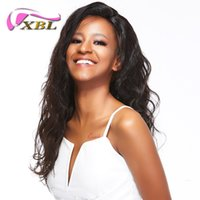Wholesale Hair Braiding Hairstyles - xblhair braided lace front wig amazing body wave human hair wig within full lace wig sale