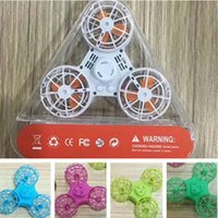 Wholesale usb dice - NEW Fidget Flying Spinner Chargeable Fly Back Finger Dice USB Charging Gyroscope Anti-Stress Release Toys 12PCS UP DHL FREE