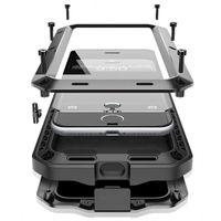 Wholesale shock iphone 5c online - R JUST Luxury Doom Armor Duty Shock life waterproof Metal Aluminum Phone Cases For iphone X SE S C S S Plus Glass