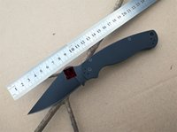 Wholesale military hunting - 2018 New High qualit c81 folding knife S30V black Blade G10 7 colors Handle Camping Hunting Survival Knives Military Pocket Outdoor Tool OEM