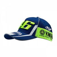 Wholesale Driver Caps Hats - High Quality Rossi New VR46 Baseball Cap MOTO GP Factory Racing Snapback Caps Motorcycle Game Driver Fans Bone Motorman 46 Hats