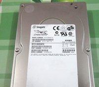 seagate hdd için toptan satış-Orijinal Seagate ST318203FC 18G / 18GB 10K RPM FC için% 100 Test Çalışması Mükemmel