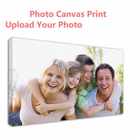 Wholesale gallery photos - Customized canvas picture wall art print photo Prints Painting Canvas Your Photo Turn Into On as Gallery Artwork