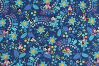 ingrosso tessuto cotone modello diy-Nuovo tessuto di cotone di controllo del modello del fiore di larghezza di 150cm di larghezza Tessuto di cotone per il panno diy, vestiti / cuscino / borsa / tessuti di scopo speciale del letto