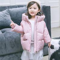 ce8d23080 2018 niños gruesos abajo chaqueta marea abanico niñas largas niños pequeños  y medianos ropa para niños