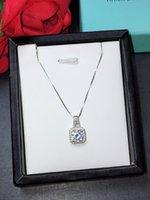 отличные украшения оптовых-ювелирные изделия г-жа один бриллиантовое колье 2018, S925 серебро, мода стиль, элегантный и щедрый горячий продавать новый отличный подарок