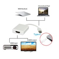 Wholesale 4k laptops for sale - USB C USB Type C to HDMI K HDTV Adapter Type C To HDMI Cable Converter for Macbook Chromebook Pixel Cable