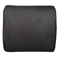 almofadas de encosto de cadeira venda por atacado-Espuma de memória macia apoio lombar de volta massageador almofada da cintura travesseiro para cadeiras no assento do carro almofadas home office aliviar a dor