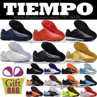 pretty nice 262b6 de9fa Zapatos de fútbol de baja calidad Futsal Tiempo Ligera IV Botas de fútbol  TF IC Césped Botines de fútbol para interiores Negro Rojo Blanco Oro Azul  Verde