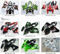 aftermarket kawasaki ninja verkleidungen großhandel-MotoHero Fairings für KAWASAKI NINJA ZX9R 00 01 ZX 9R 2000 2001 Aftermarket Verkleidung Kits + Windschutzscheibe + Hitzeschild + Geschenke