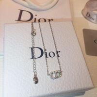 damen mode halsketten anhänger großhandel-AAAA Qualität C Halsketten für Geschenke Party Lady Graceful d Zirkon Anhänger Designer Luxus Perlenketten für Frauen Mode-accessoires