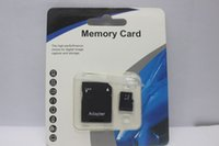 Wholesale micro sd sdxc resale online - 2019 Hot Sale popular GB GB SDXC GB GB Micro SD TF With Adapter Blister Generic Retail Package