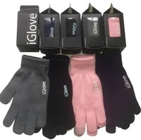 eldiven unisex dokunma toptan satış-En Kaliteli Unisex iGlove Kapasitif Dokunmatik Ekran Eldiven Çok Amaçlı Kış Sıcak IGloves Eldiven iphone 7 samsung s7 Için 2 adet bir çift