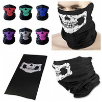 ingrosso maschere del cranio 3d-CAR-partment Winter 3D Skull Sport Maschera Collo caldo maschera di protezione piena antivento antipolvere di riciclaggio della bici mascherina mascherine Sci Snowboard GGA275